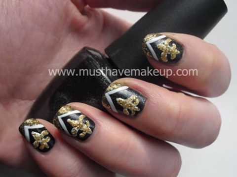 Nail Design go Saints