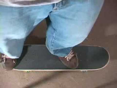 Skateboard trick tip video