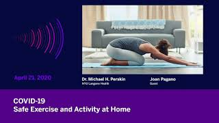 COVID-19: Safe Exercise & Activity