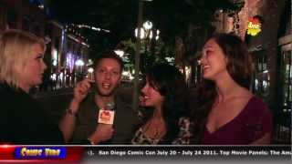 San Diego Comic Con (Comic Vibe Part 8) - Saturday Late Night Interviews
