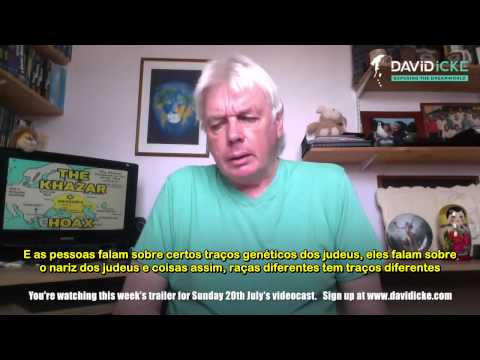 David Icke Videocast Expondo a Mentira sobre a história de Israel   Legendado PT BR