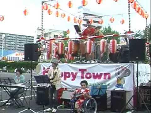 ZADAN 茅ヶ崎に背を向けて コピー 東山ハッピータウン盆踊り