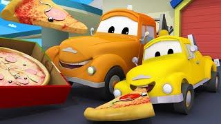 Tiệm rửa xe cho trẻ em - Hector Máy Bay Trực Thăng đang ho! - Thành phố xe 💧 phim hoạt hình về xe