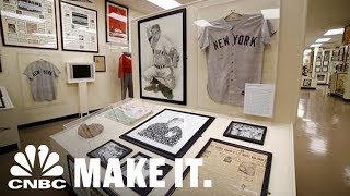 This $30 Million Private Sports Museum Holds More Than 20 World Series Trophies | CNBC Make It.