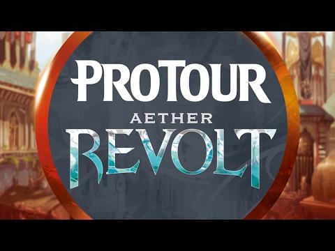 Pro Tour Aether Revolt Round 4 (Standard): Jelger Wiegersma vs. Luis Salvatto