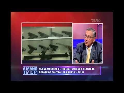 Masacres vs control de armas - América TeVé
