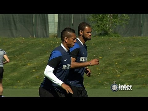 ALLENAMENTO INTER REAL AUDIO 10 04 2014