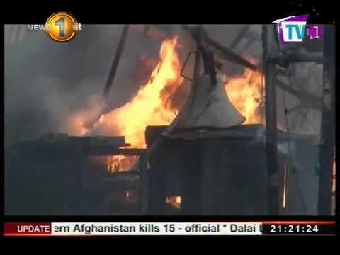 fire destroys a stor|eng