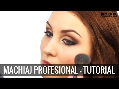 Machiaj de seara profesional si simplu - tutorial step-by-step