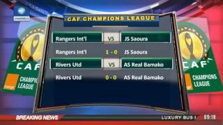 Sports This Morning: Updates From CAF Champions League 17/02/17