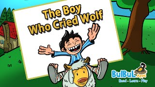 The Boy Who Cried Wolf | Moral Story For Kids | Animated Stories for kids | Bulbul Apps