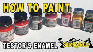 Testors Aztek: Airbrushing Freehand