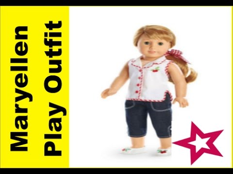 AG Maryellen Larkin Beforever Play Outfit American Girl 18