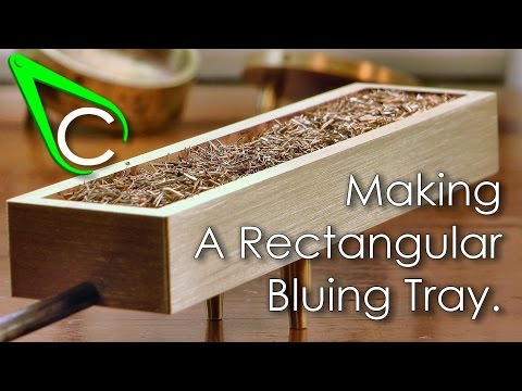 Spare parts #9 - Making A Rectangular Bluing Tray
