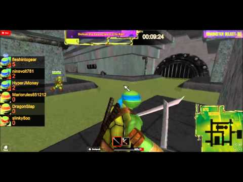 LM135 Plays ROBLOX: TMNT