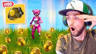 Download Lagu BREAKING Fortnite with x100 *NEW* Port-A-Fortress! Gratis STAFABAND