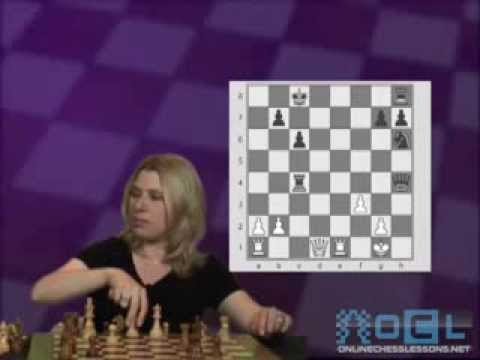 Susan Polgar's Unique View on the Tarrasch Variation, The French Defense (Beginner Chess DVD)