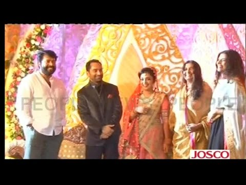Fahad Nazriya Wedding Reception In alappuzha,Video(Exclusive)