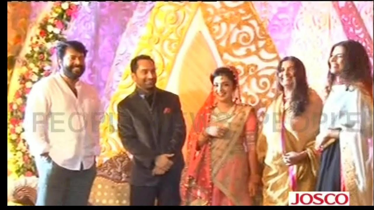 Reception Photos of Nazriya Nazriya Wedding Reception