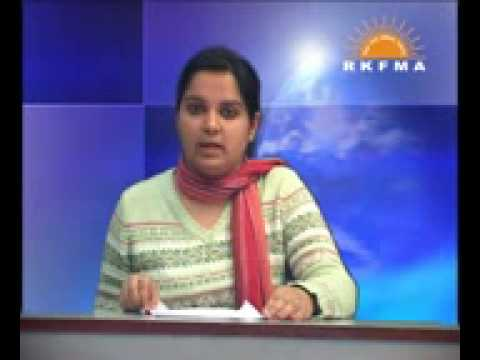 Yamini - RJ News Reading Course offered at JDM College DU in association with RKFMA New Delhi