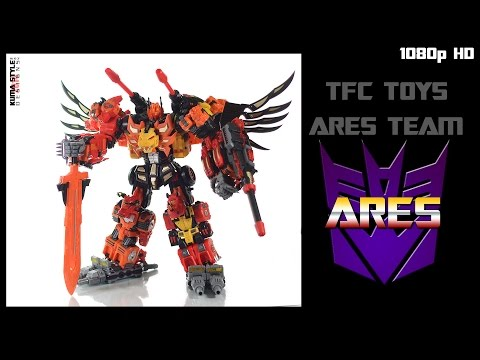 Toy Review: TFC Toys Ares (Full combined mode)