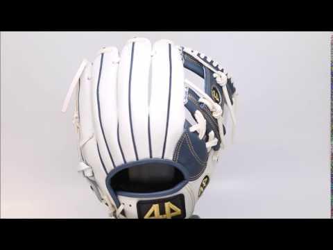 44 Pro Custom Baseball Glove Classic Series 2 ( C2 ) White Navy I web