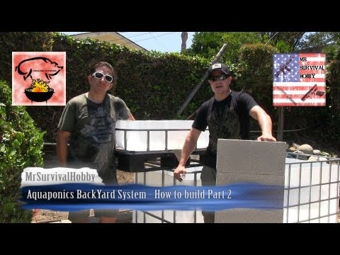 Aquaponics System for a Backyard - How to build Part 2