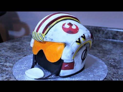 Star Wars Rebel Forces Helmet Cake