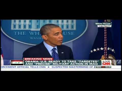 Obama: It Wasn't My Decision to Pull Troops Out of Iraq