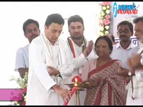 Lucknow - Jitin Prasad inaugurate the 22 km, Lucknow-Faizabad bypass ( August 1, 2012)