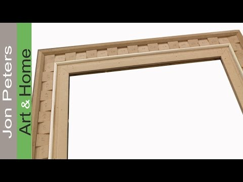 How to Make a Super Fancy Frame !! by Jon Peters