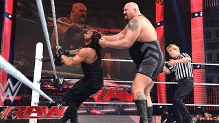 Roman Reigns vs. Big Show: Raw, April 6, 2015