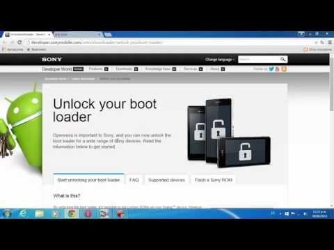 Tutorial: Desbloquear el bootloader del Xperia SP [O de algun dispositivo Xperia compatible]