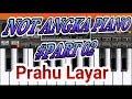 Not Angka Prau Layar l Lagu Daerah