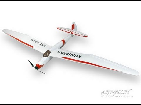 Art-Tech Mini Moa Electric Powered EPO Glider