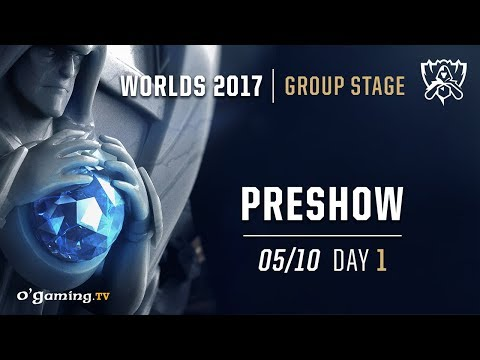 Preshow - World Championship 2017 - Group Stage - Day 1 - League of Legends