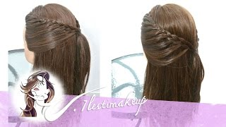 Trenza facil, 2 versiones. Easy Braid