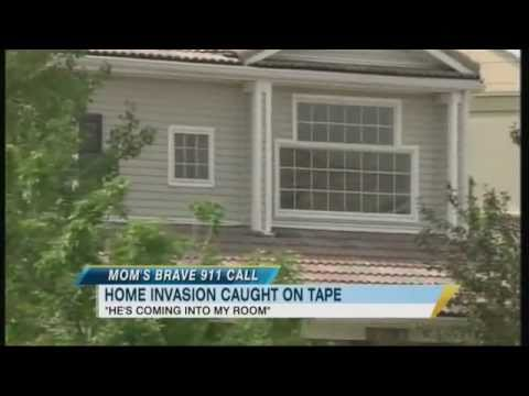 Chilling 911 Call Caught on Tape: Mom, Son Hide in Closet During Break-In