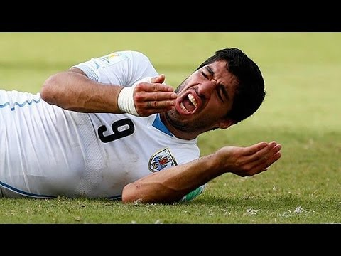 Suarez hit with record nine-match ban for biting