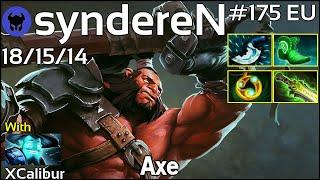 syndereN plays Axe!!! Dota 2 7.19