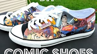 DIY COMIC BOOK CONVERSE