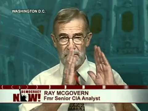 Peace Activist and Ex-CIA Analyst Ray McGovern Beaten, Arrested for Silent Protest at Clinton Speech