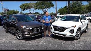 Which Hyundai SUV should you BUY? 2019 Tucson or Santa Fe