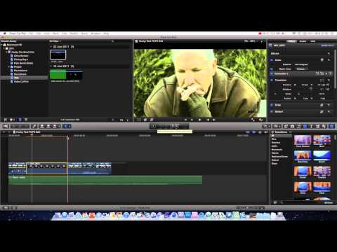 Final Cut Pro X Basics Tutorial Pt. 2 - Color Correcting / Grading