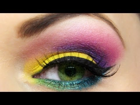 COLOR BURST Summer Makeup Look