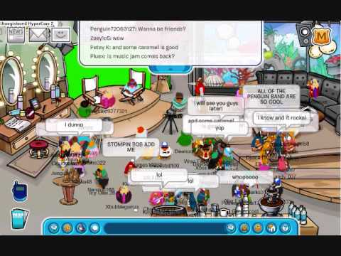 Club Penguin Band 09 G Billy, Petey K, Franky, Stompin Bob PT3