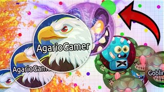 AGAR.IO - LEGENDARY INVERSE CANNONSPLIT INSANE MOMENTS , TRICKS, POPSPLITS, DESTROYING TEAMS SOLO