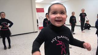 Miguelita se porta mal en las clases de baile -  El show de Bely y Beto