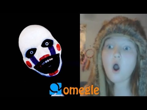 Five Nights At Freddy's - Marionette Goes On Omegle! video