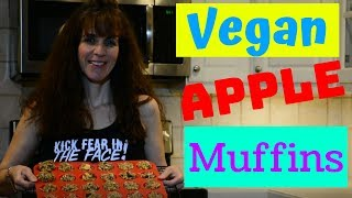 Vegan apple muffin bites